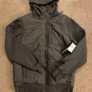 O'Neill mens quilted hoodie Medium BNWT